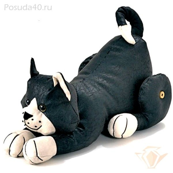 Dora Designs CATS&DOGS - Дорстопер (фиксатор для двери или окна) Кот Феликс, 29см DS271
