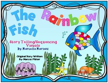 "The Rainbow Fish -Story Sequencing- Re-telling Visuals-FREEBIE.....Follow for Free ""too-neat-not-to-keep"" teaching tools & other fun stuff :)"