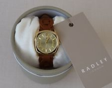 Radley Brown Leather Watch & Presentation Box & Guarantee - RRP £95 - NEW