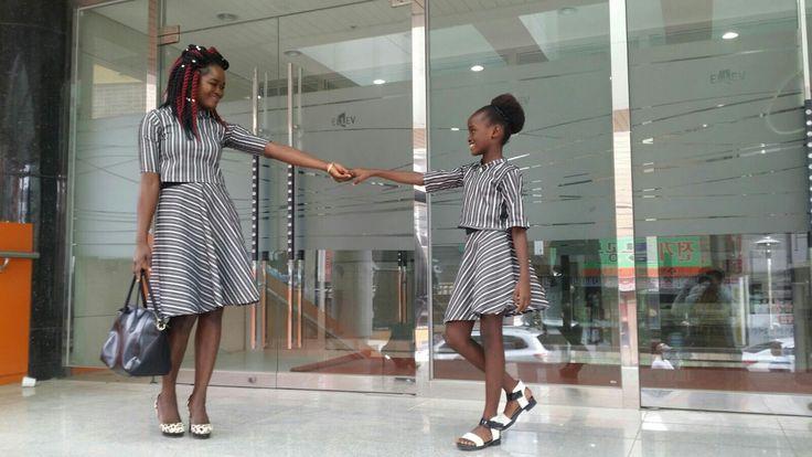 #denims#tailored#mummydaughteroutfits#circleskirts