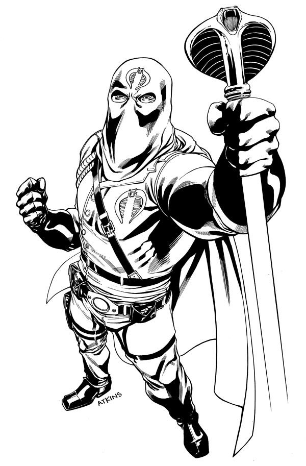 687 Best Lineart Gi Joe Images On Pinterest Gi Joe Snake Eyes - snake eyes coloring pages