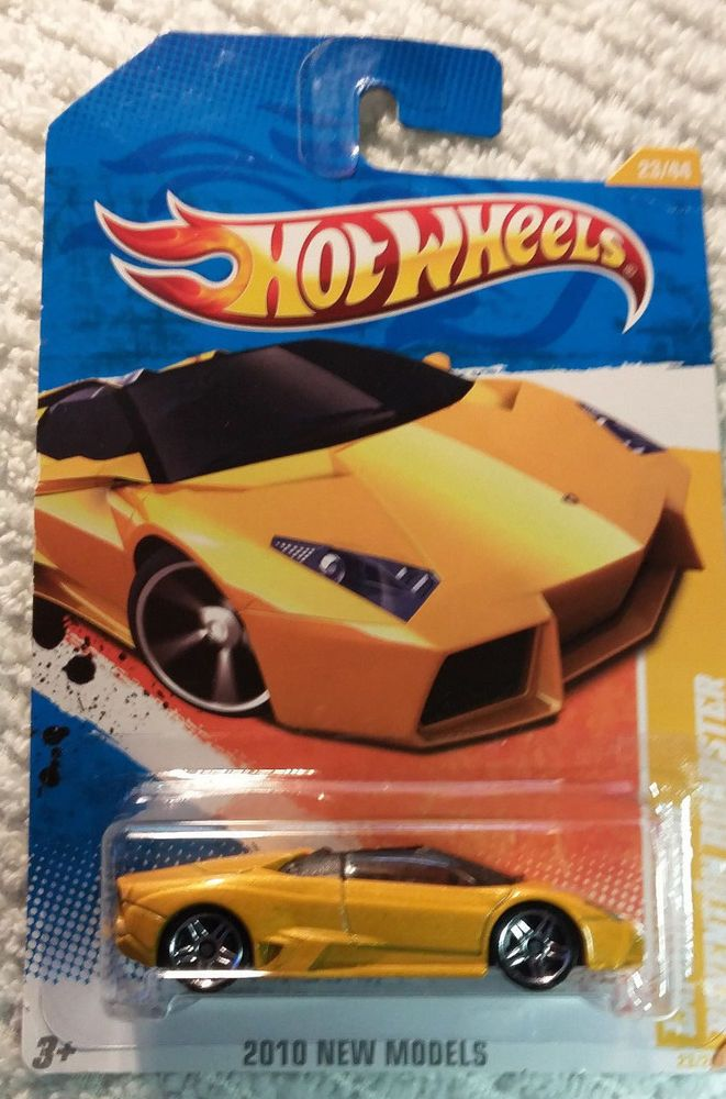 Hot Wheels Lamborghini Reventon Roadster Yellow 2010 Hotwheels