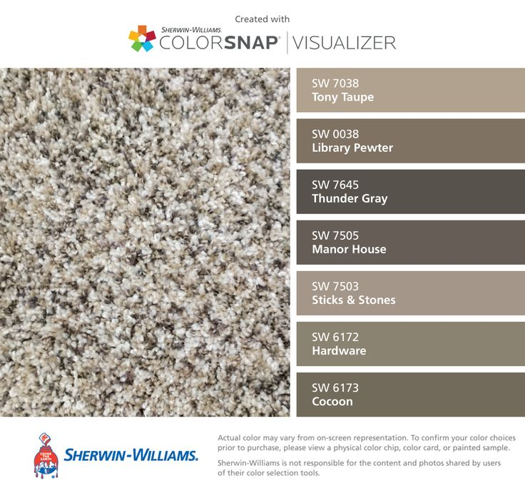 25 best for the home images on pinterest paint colors - Sherwin williams thunder gray exterior ...