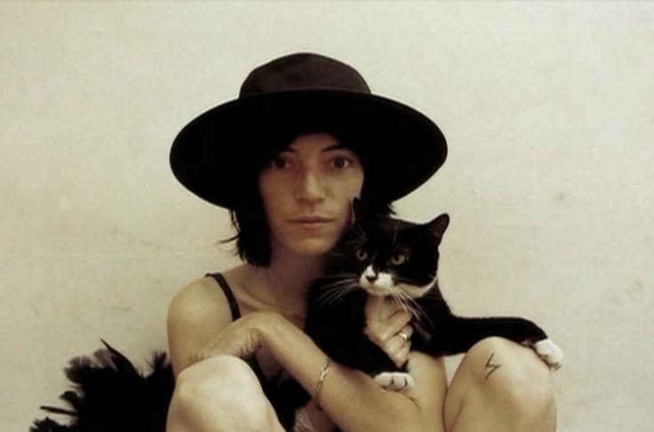 Patti Smith photographed by Sam Wagstaff.
