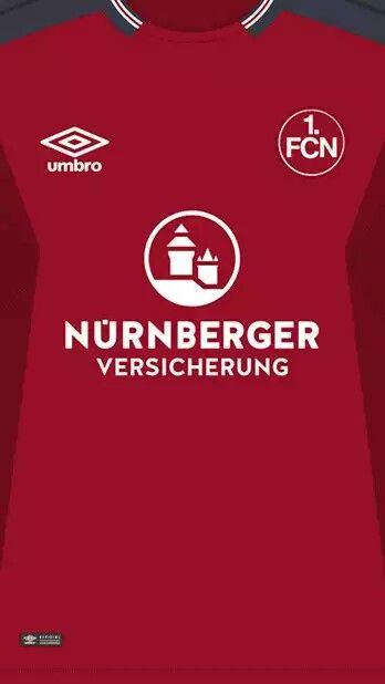 FC Nürnberg 17-18 kit home