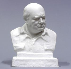 First Edition Spode Bust of Sir Winston Churchill