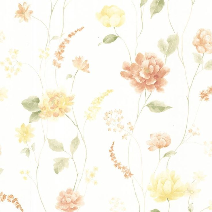 1000+ Ideas About Floral Pattern Wallpaper On Pinterest