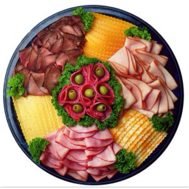 Meat & cheese platter design