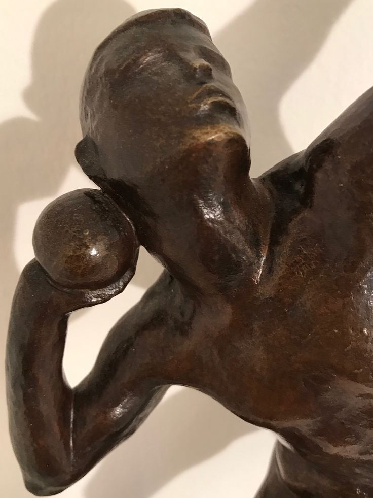 KLEIN jürgen , 1904-1978 , KUGELSTOSSER ( Detail )