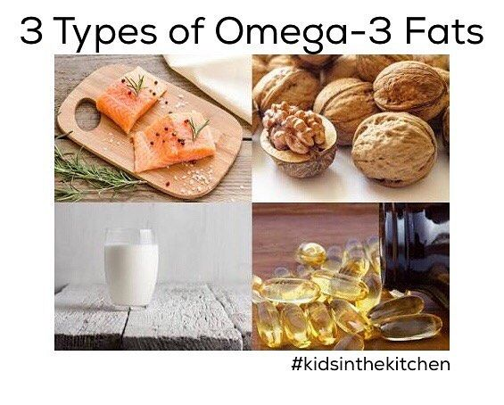 """The types of omega-3 fats are: eicosapentaenoic acid (EPA), docosahexaenoic acid (DHA) and alpha-linolenic acid (ALA). EPA and DHA are found mainly in certain fish, as well as in beef and chicken. Grass-fed animals tend to have a higher amount and produce milk and eggs higher in omega-3 fats. ALA is found primarily in plant sources, but also in some fish and meat. Food Before Supplements Gibofsky recommends offering food sources of omega-3 fats before going with supplements. """"While we may…"""