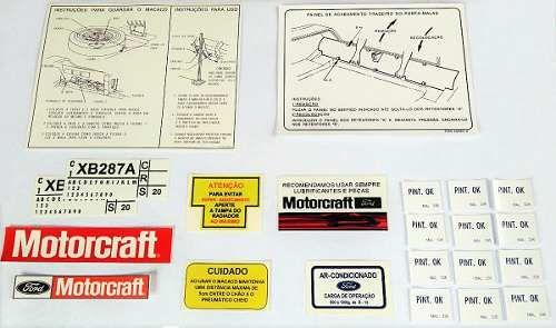 Kit de Decalques para Ford Galaxie   Temos kits para modelos de 1967 até 1983                 replica 100% idêntica ao original em medidas e na grafia!                                 e em alta qualidade de impressão!! http://lista.mercadolivre.com.br/_CustId_186397677