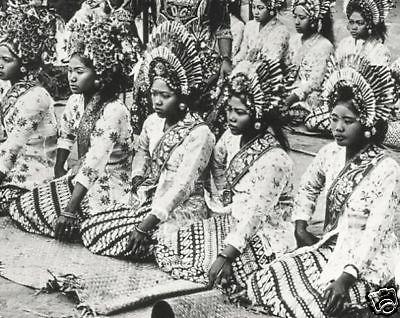 Bali Djanger-Dancers 1920s