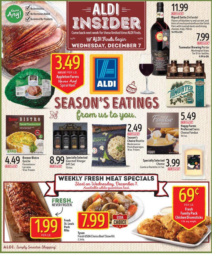Aldi In Store Ad Starting December 7, 2016 - http://www.olcatalog.com/grocery/aldi/aldi-in-store-ad.html