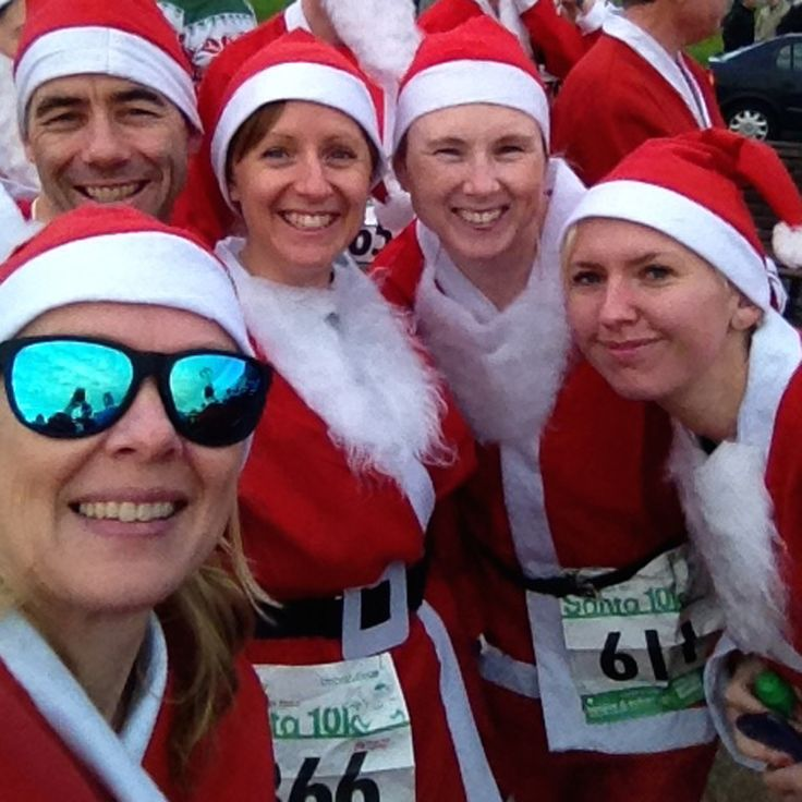 Blog post on our 2015 Santa Run on the Women's running website by Tina Chantry