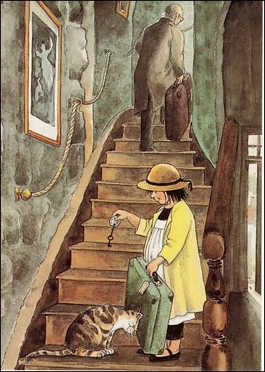 Linnea in Monet's Garden • Lena Anderson, illustrator.  A beautiful chidren's book