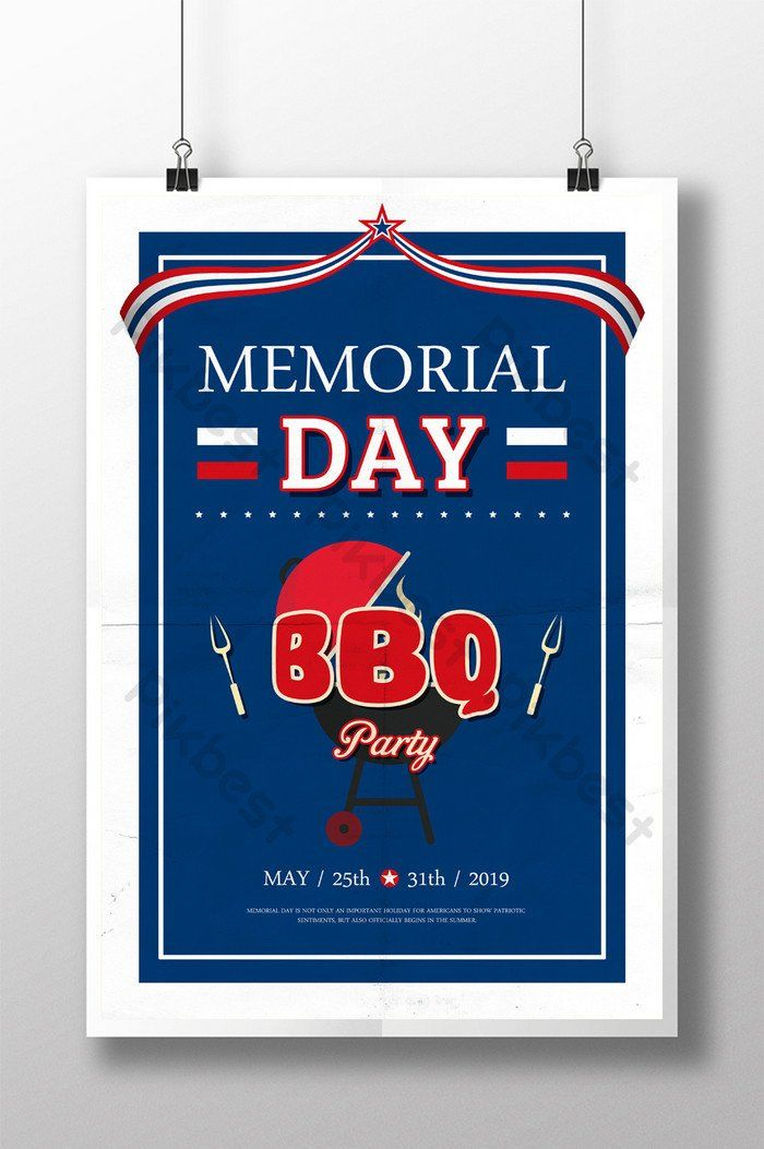 Memorial Card Templates Free Download Fresh American Memorial Day Bbq Party Poster Card Templates Card Templates Free Memorial Cards