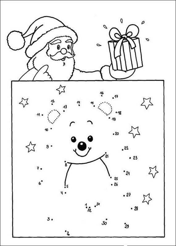 christmas dot to dot