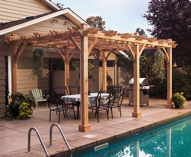 pergola plan woodworking projects plans. Black Bedroom Furniture Sets. Home Design Ideas