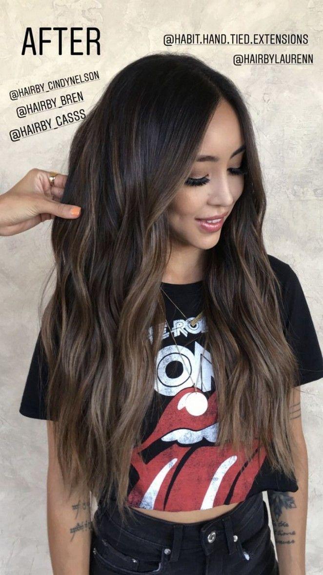 30 unique sun kissed brunette hair color ideas for 2019 024