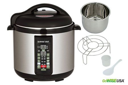 7. Stainless Steel Cooking Pot 6-in-1 Electric Pressure Cooker