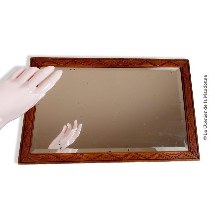 17 meilleures id es propos de miroir biseaut sur pinterest parois de miroir carreaux de. Black Bedroom Furniture Sets. Home Design Ideas