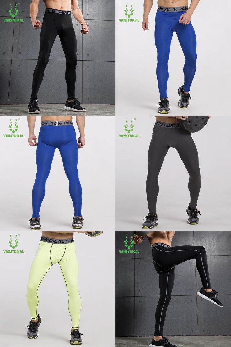 [Visit to Buy] Sport Joggers Compression Track Pants Fitness Men Running Tights GYM Clothing Football Basketball Training Leggings S-XXL #Advertisement