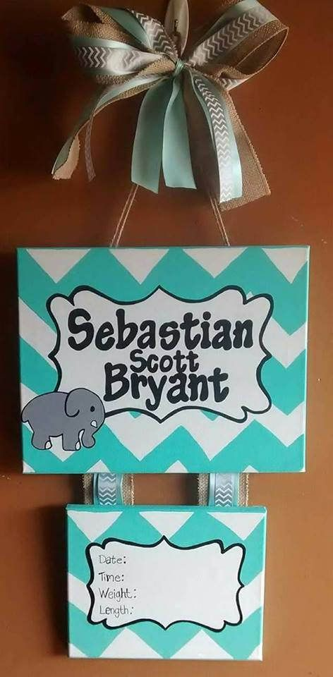 Idea for letter P hairline holder. Big bow on top about P  Hey, I found this really awesome Etsy listing at https://www.etsy.com/listing/523391149/elephant-baby-hospital-door-hanger