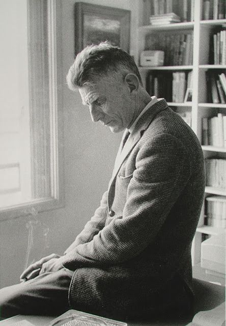 Samuel Beckett, Paris, 1964 | Gisèle Freund: Writer Portraits | A Piece of Monologue: Literature, Philosophy, Criticism