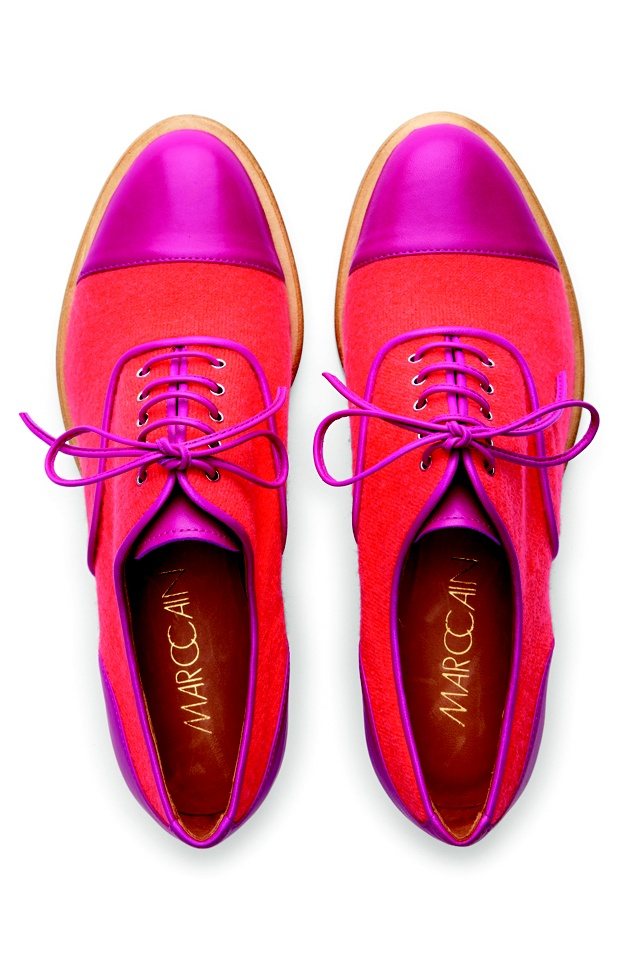 Color block oxfords by Marc Cain