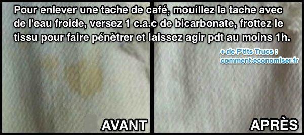L Astuce Efficace Pour Enlever Une Tache De Cafe Sur Un Vetement