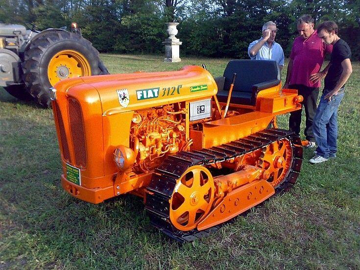 fiat 312 tractor trattore