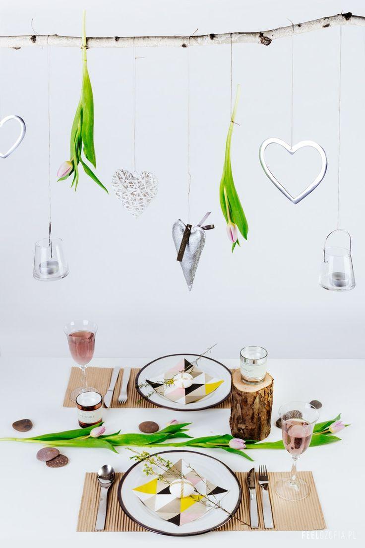 Wielkanocna stylizacja stołu :-)   Feelozofia