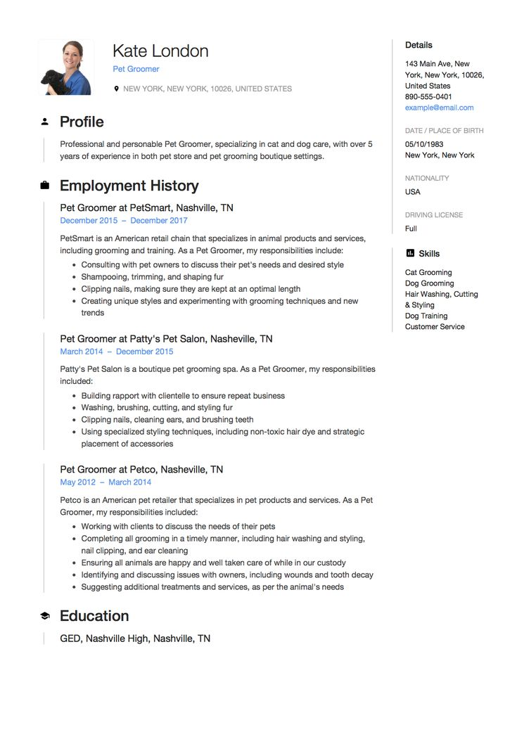 51 best Resume Samples images on Pinterest