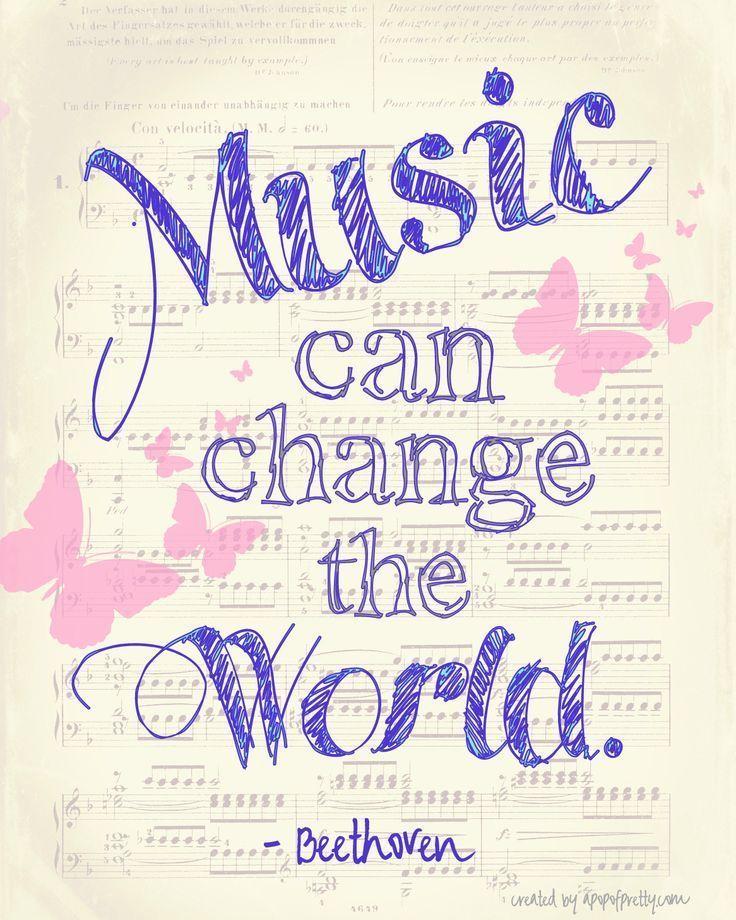Musik kann die Welt verändern – apopofprettydotcom – frei bedruckbar. Ich habe immer …, #apopofprettydotcom #bedruckbar #immer #musik #verandern – Maren Hinrichs