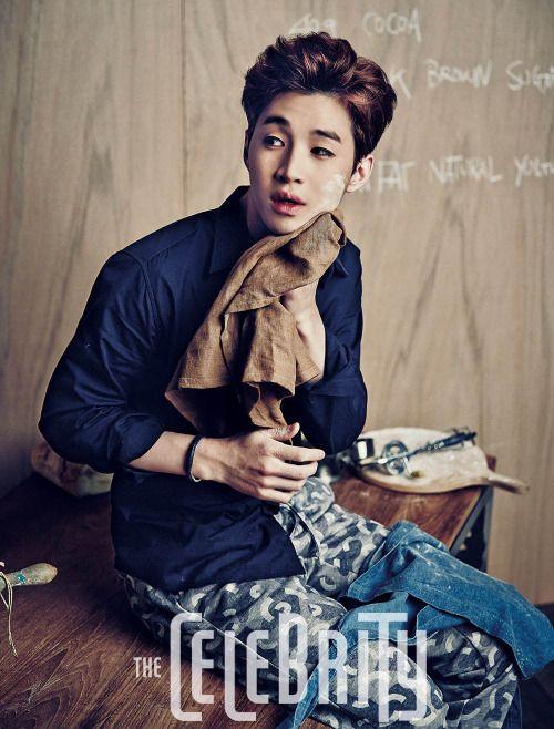 Super Junior Henry - The Celebrity Magazine October Issue '14