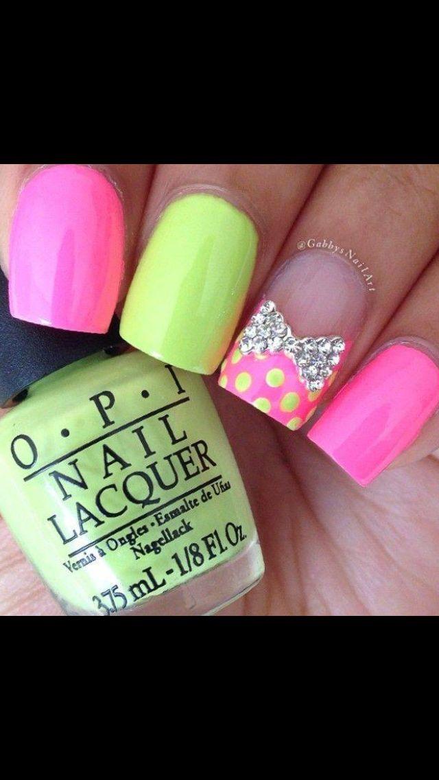 Mejores 217 imágenes de Nails and more nails en Pinterest | Esmalte ...