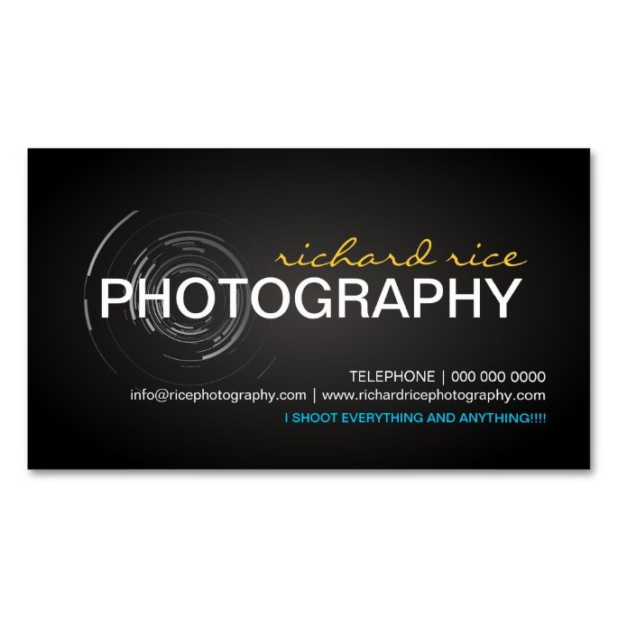 2263 best bold text business card templates images on pinterest modern photographer business cards reheart Image collections