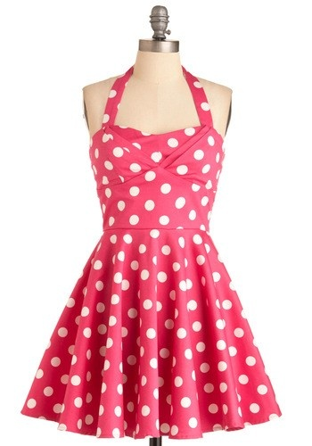 Red and white dress teen beach movie