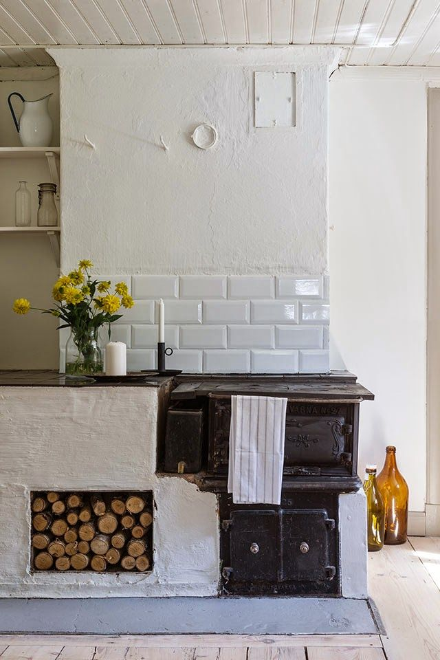 04/01/16 - This looks super cosy and we would love an aga in our dream home (probably won't happen but who knows). I just think this sums up cottage home.