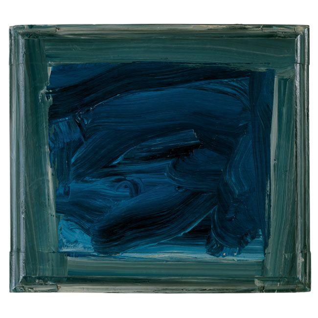Ultramarine by Howard Hodgkin (2003-2005)