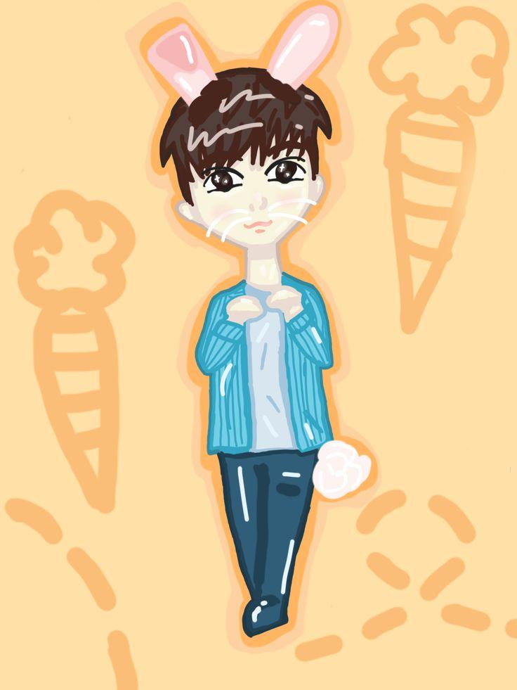 Bunny Joshua #seventeen #Joshua #fanart