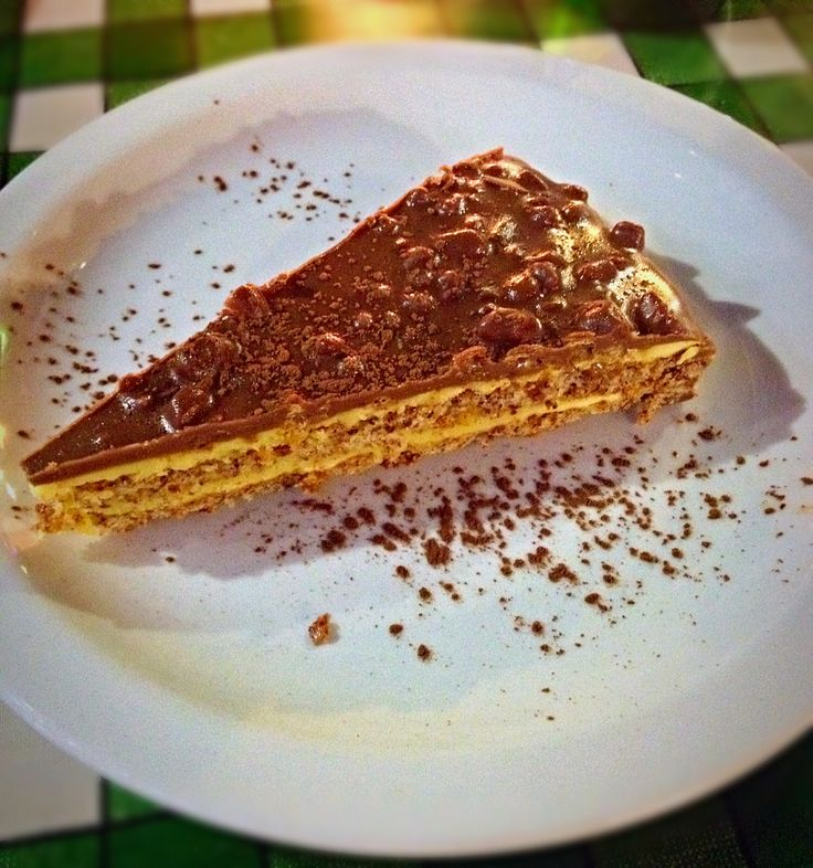 Daim bar crisp cake! Yum!!!