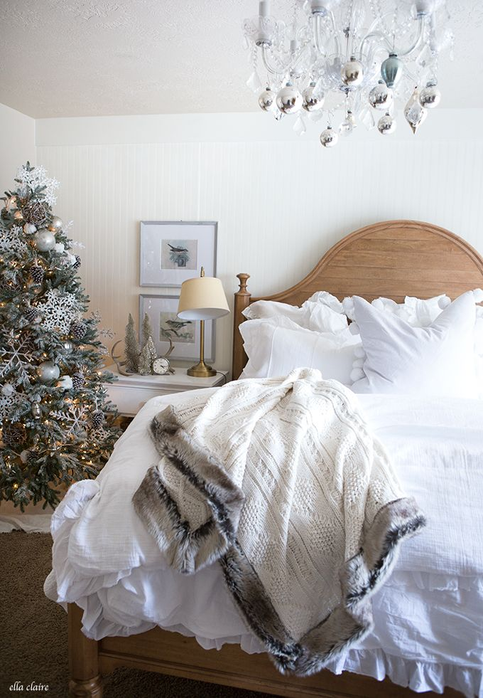 Christmas Bedroom. Best 25  Christmas bedroom decorations ideas on Pinterest