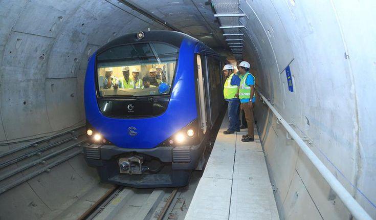 Chennai Metro Update: Mobile transmitters to install at 7.6 km underground stretch in 2 months #RailAnalysis #Metro #News #Rail