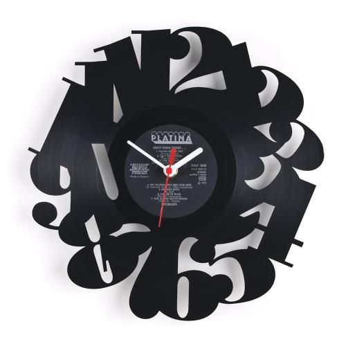 Delightful Estonian Designer Pavel Sidorenko Has Created A Series Of Re_Vinyl Wall  Clocks That Are Made Out Of Old Vinyl Records That Have Been Cut Into  Decorative De Design Inspirations