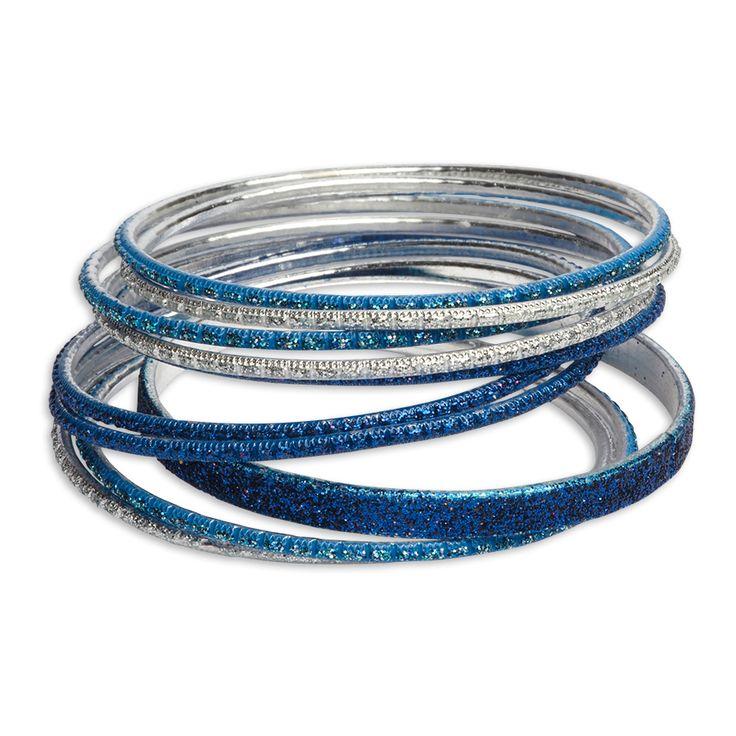 Glitterarmband, Blå, Accessoarer, Barn | Lindex
