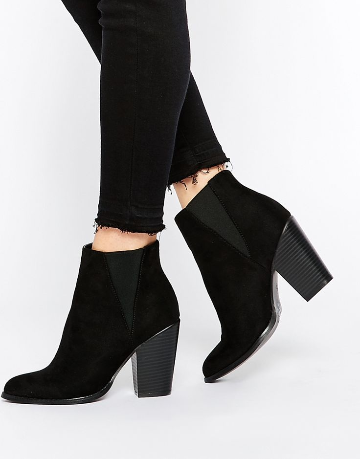 New Look Pointed Leather Look Heeled Ankle Boot for nice cheap online visit sale online buy cheap get authentic nuMfe