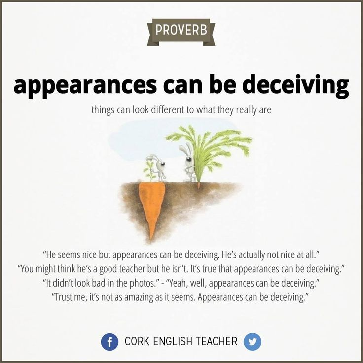 appearances can be deceiving - photo #16