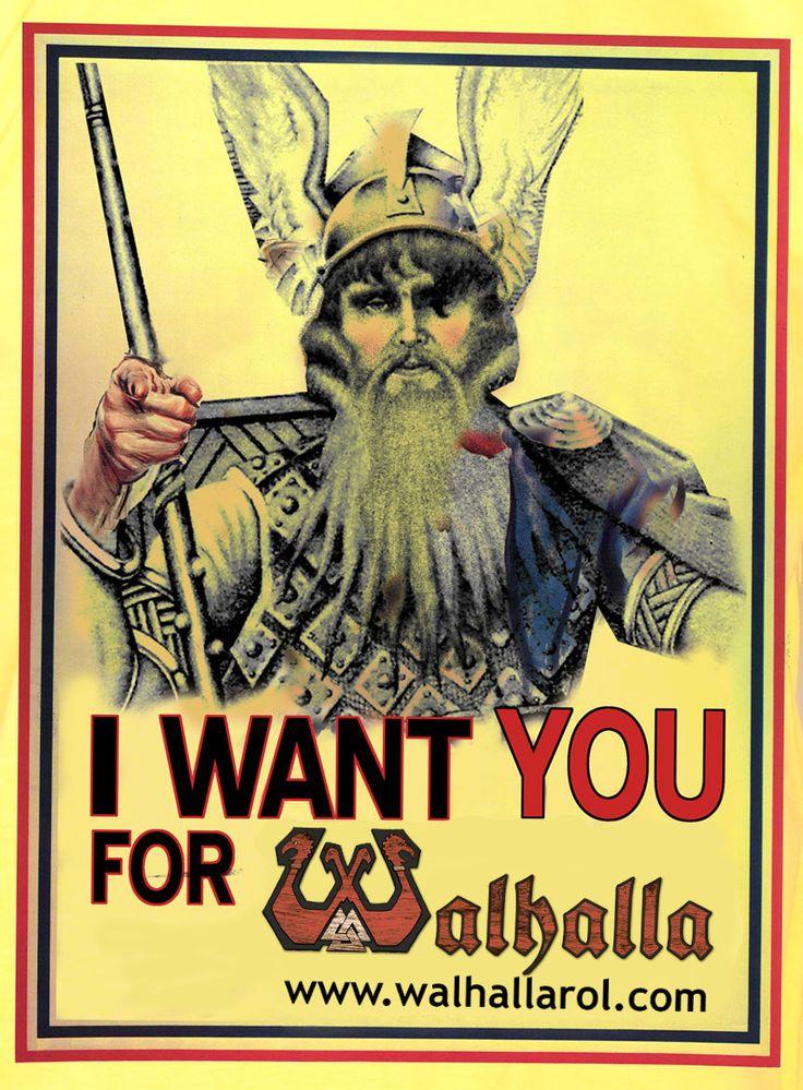 Únete al Salón del Jarl: http://www.walhallarol.com/contacto.html