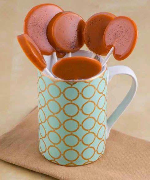 SPOON: Caramel Chai Tea-Tini Liquor Lollipops